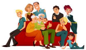 Famille d'un schizophrène